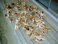 木工の船作り